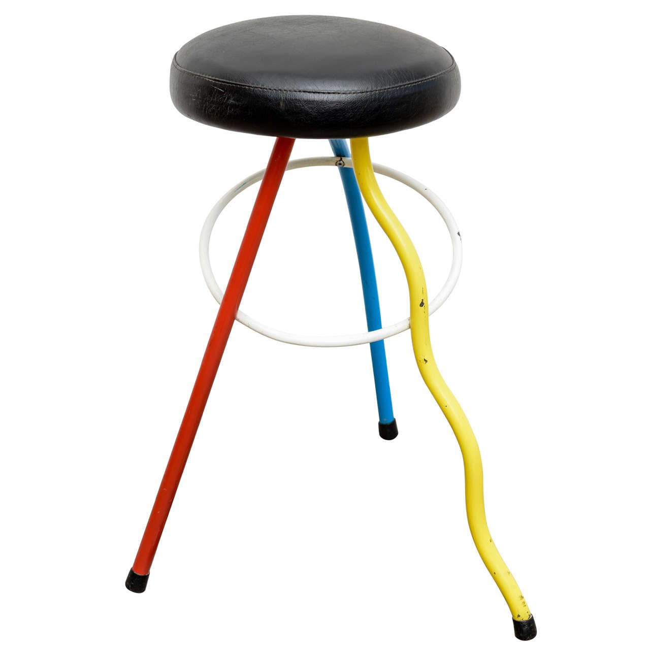Colorfull Child Size Stool By Javier Mariscal Memphis At