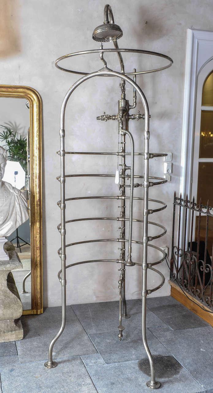 Free Standing Shower Curtain Rail