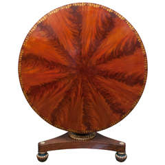 Classical Tilt-Top Center Table