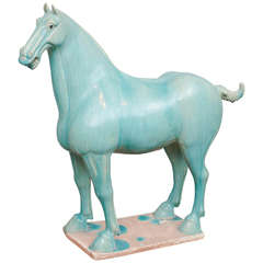 Stately Chinese Ceramic Horse