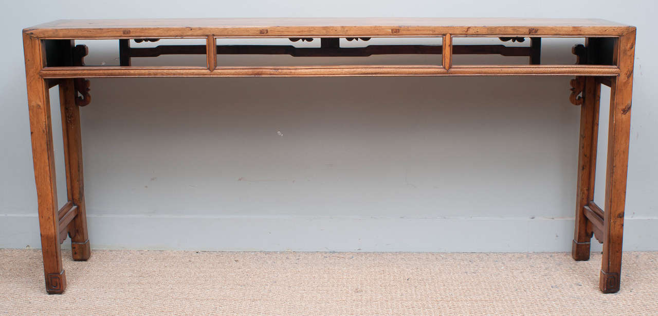 long and narrow console table 19th century 2 - Skinny Console Table