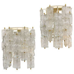 Pair of Barovier e Toso Sconces