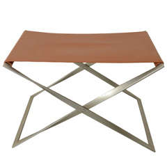 Folding Stool by Poul Kjaerholm