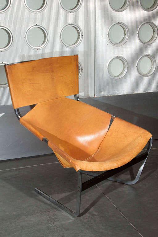 Dutch Pierre Paulin Lounge Chair For Sale