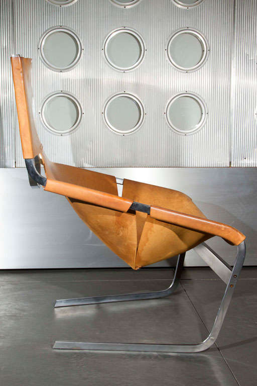 Pierre Paulin Lounge Chair For Sale 1