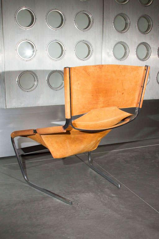 Pierre Paulin Lounge Chair For Sale 2