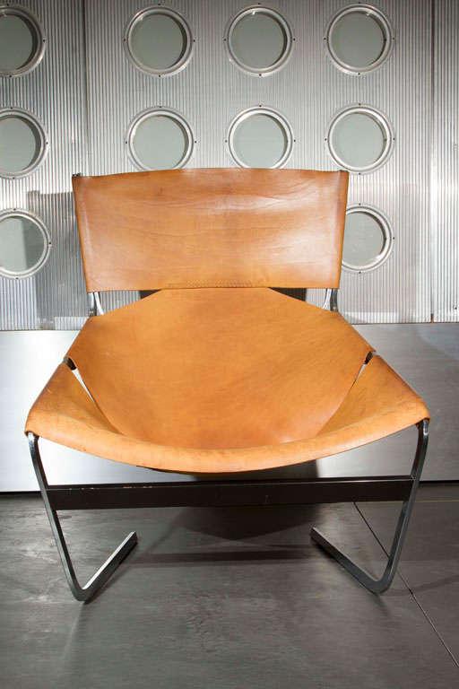 Pierre Paulin Lounge Chair For Sale 3