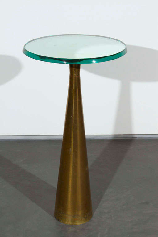 Fontana Arte occasional table, manufactured by Fontana Arte, Italy.