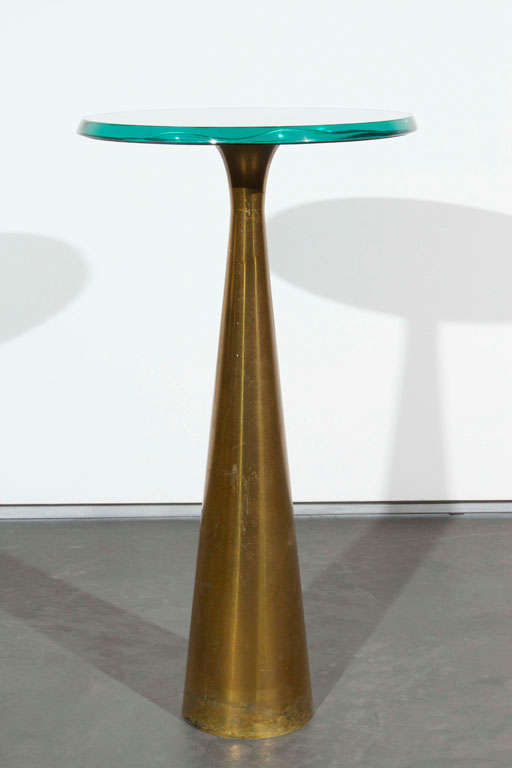 Fontana Arte Occasional Table In Excellent Condition For Sale In Los Angeles, CA