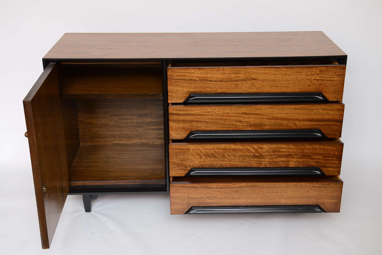 American Milo Baughman Perspective Buffet for Drexel in Primavera For Sale