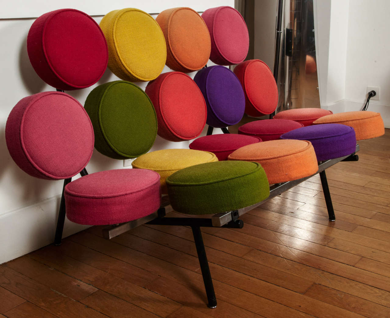 """""""Marshmallow"""" sofa by George Nelson, 1958. 2"""