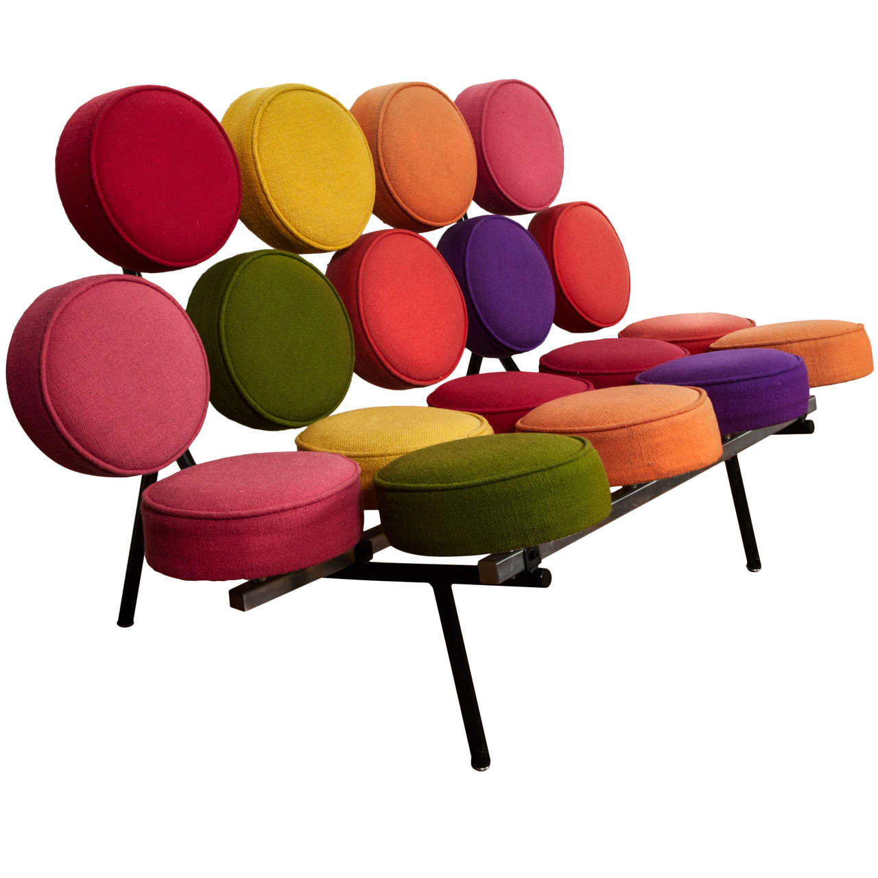 """""""Marshmallow"""" sofa by George Nelson, 1958. 1"""
