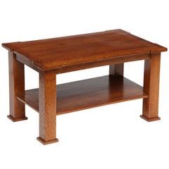 Jacques Quinet, Oak Side Table, France, C. 1948