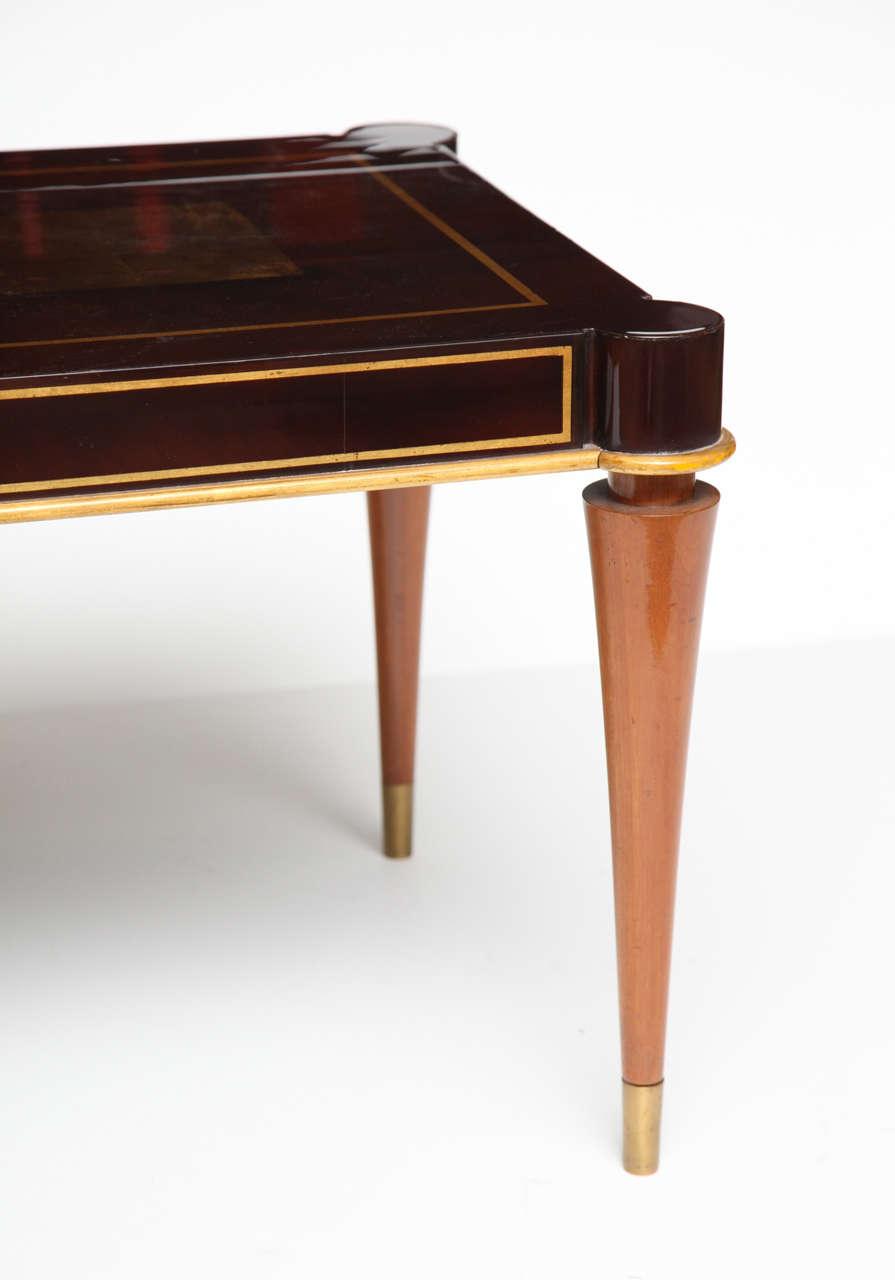 Fine Mahogany Coffee Table By Batistin Spade 1891 1969