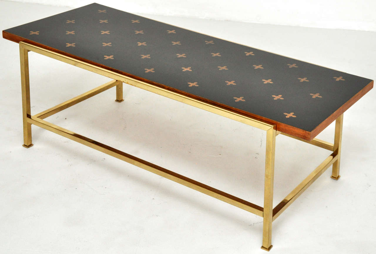 Dunbar Parquetry Top Cocktail Table Edward Wormley At 1stdibs