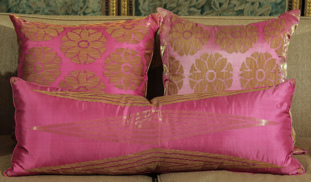 Pillows of Pink and Gold 2