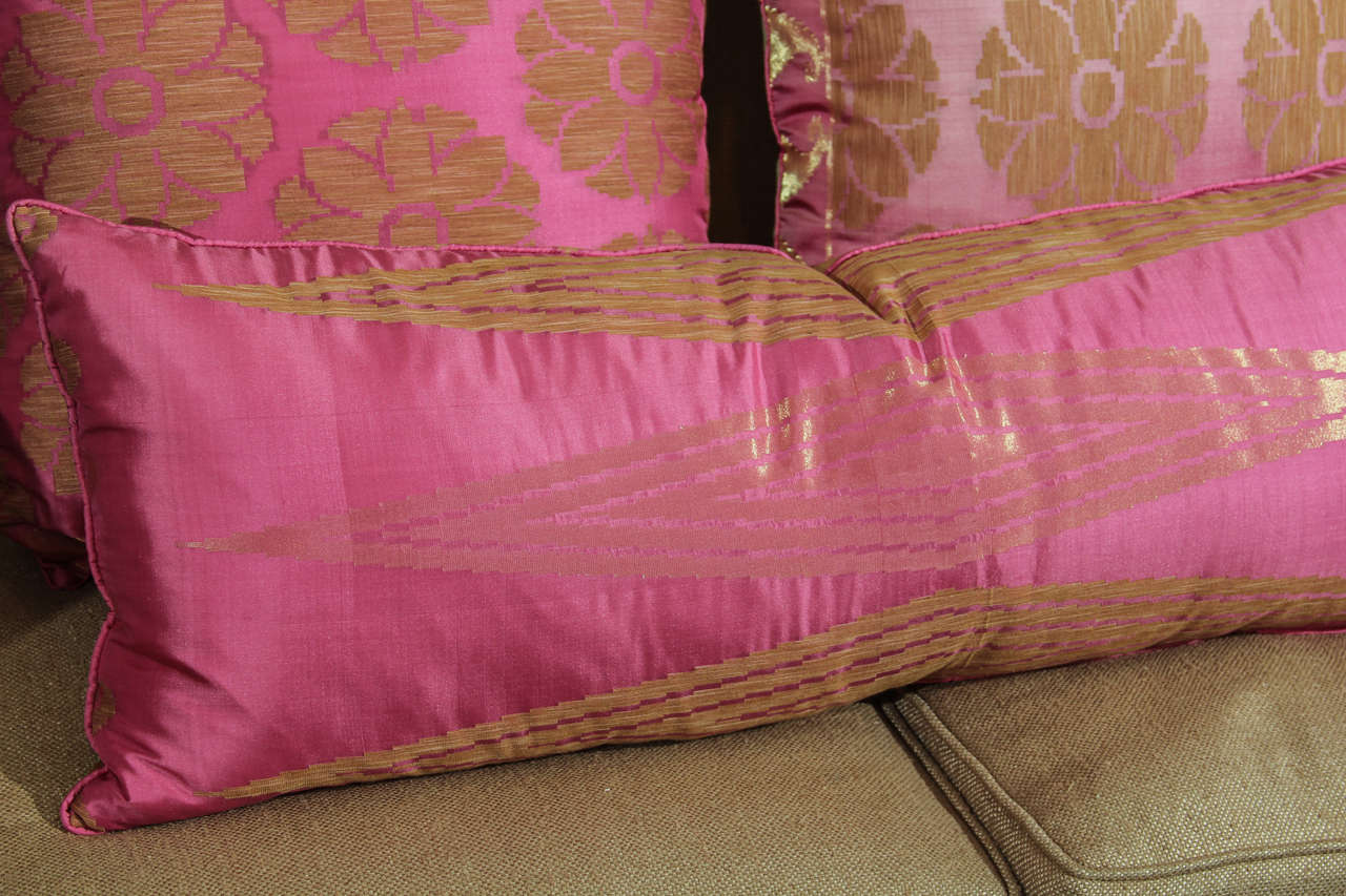 Pillows of Pink and Gold 3