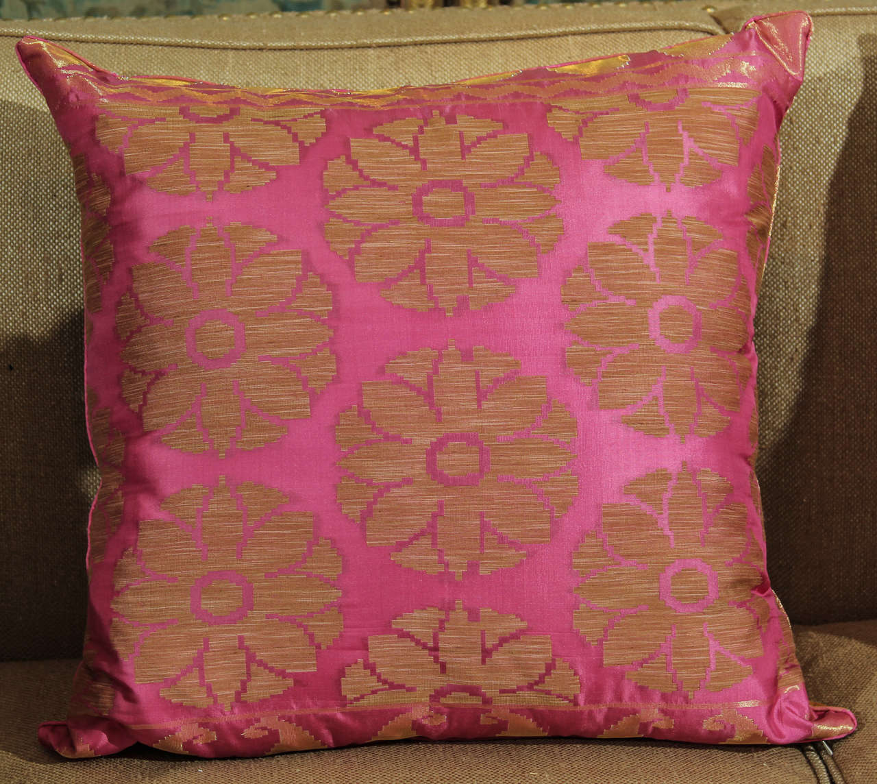 Pillows of Pink and Gold 5