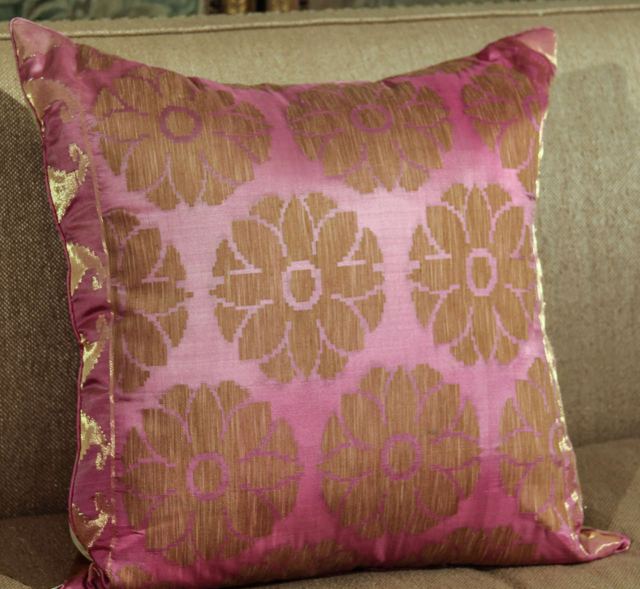 Pillows of Pink and Gold 6