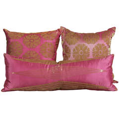Pillows of Pink and Gold