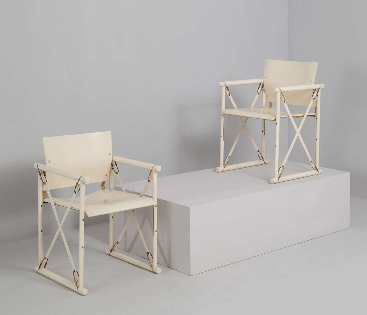 Off White Belgian Dining Room Set By F Van Praet 1981 For Sale At 1stdibs
