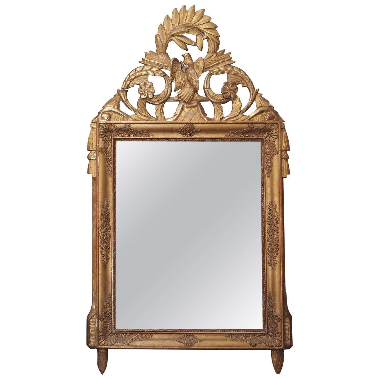 french provincial mirror provincial empire mirror at 1stdibs 1106