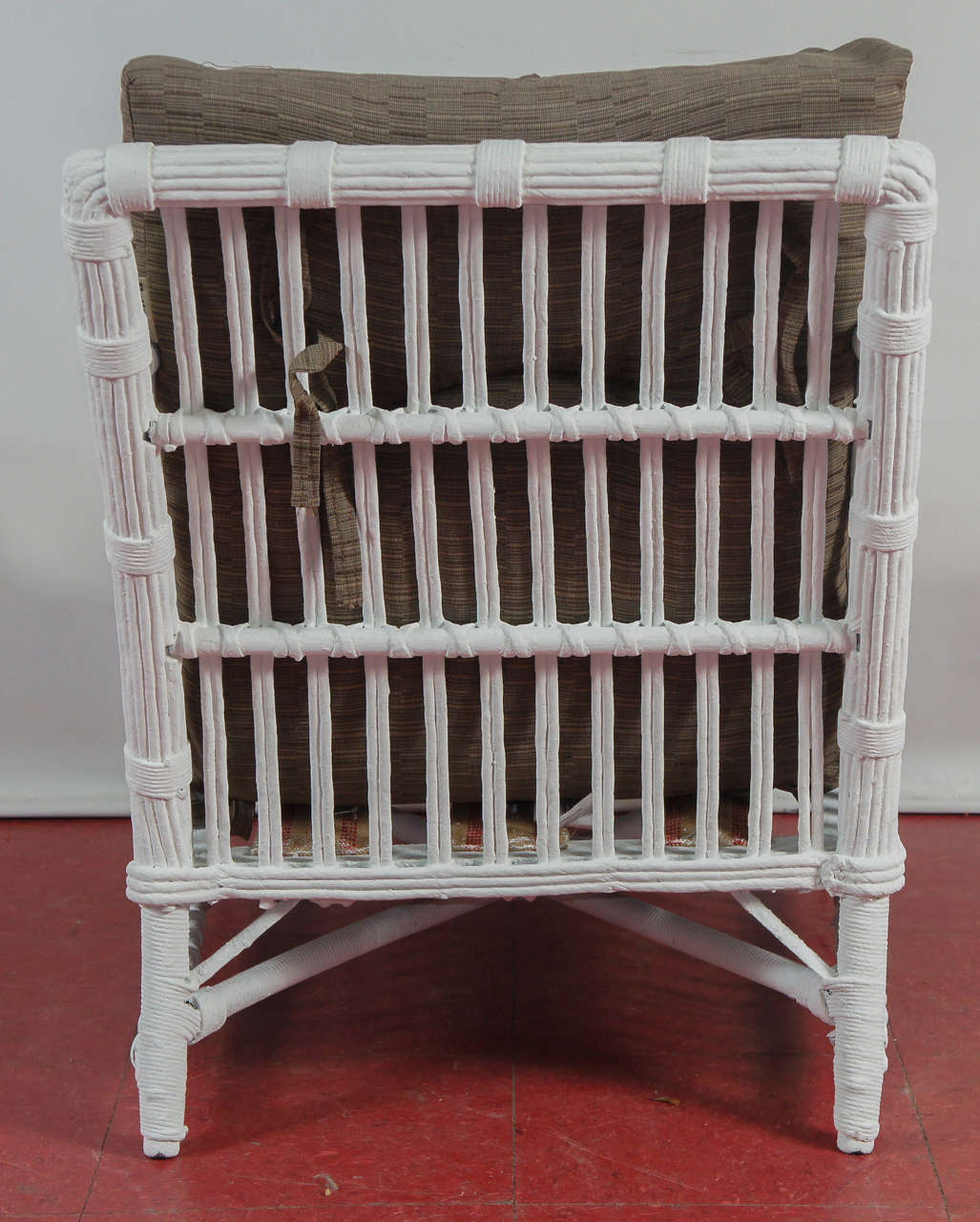 Stylish Split Reed Bamboo And Rattan Arm Chair At 1stdibs