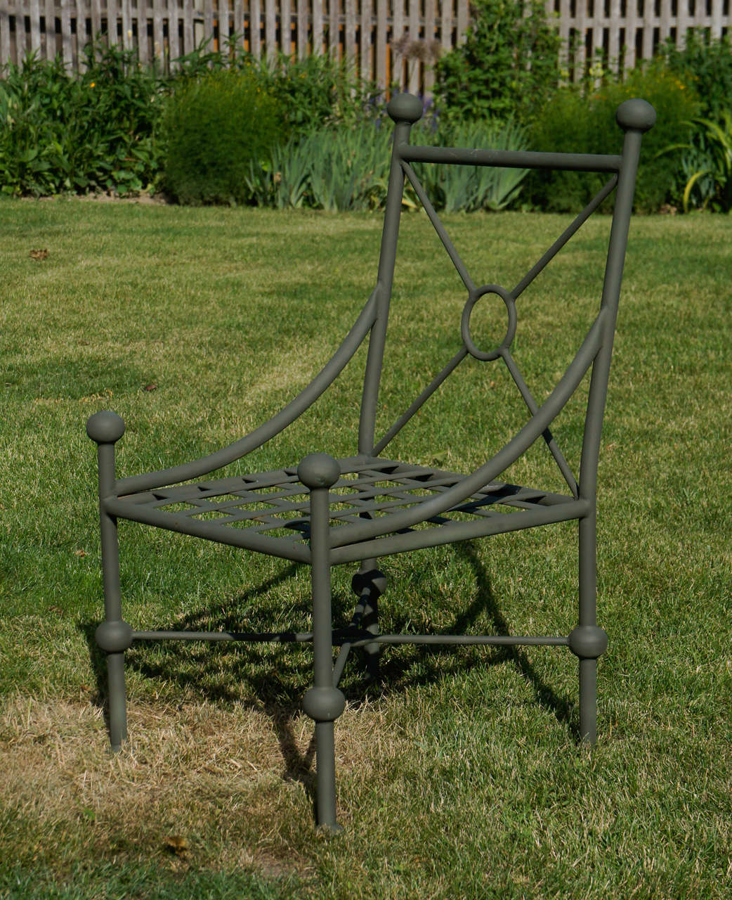 A Large Vintage 10 Peice Set Of Wrought And Cast Iron