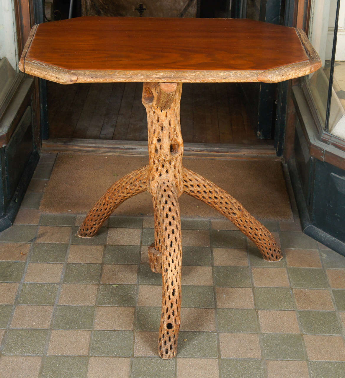 Merveilleux This Interesting And Unusual Table Made In The South West Circa 1930 Is  Constructed Of Saguaro