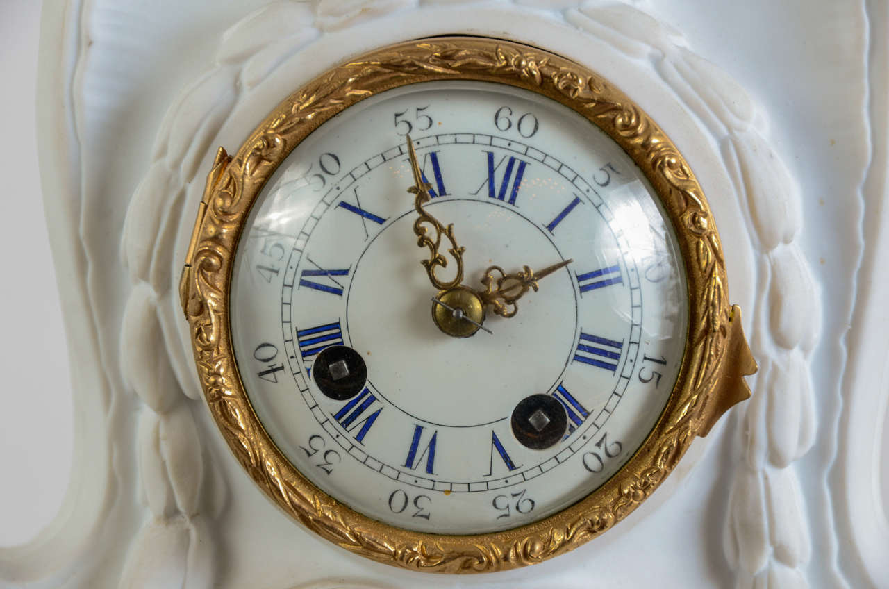 Very unusual clock included in a biscuit rhinoceros at 1stdibs Unusual clocks for sale