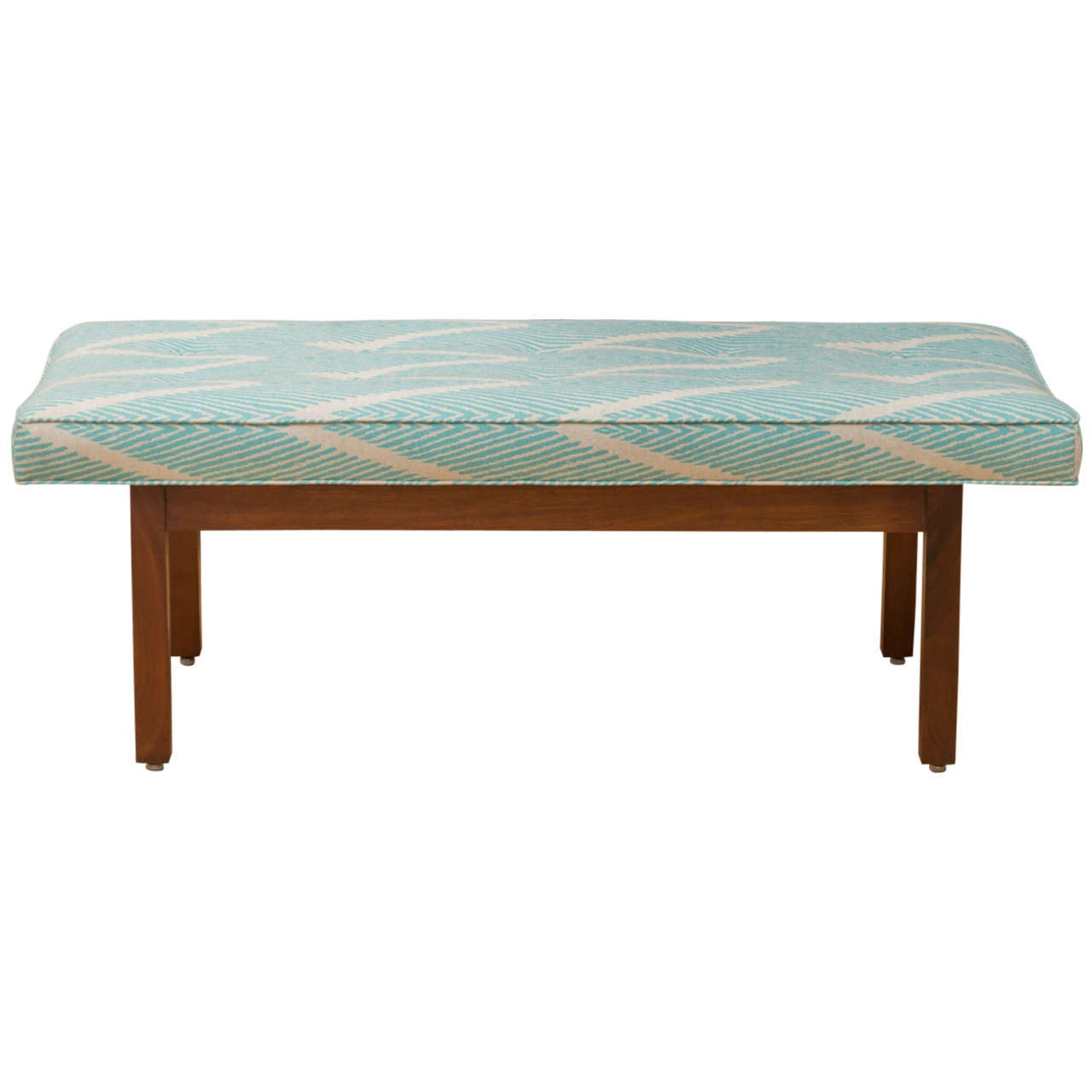 Simple Walnut Bench For Sale At 1stdibs