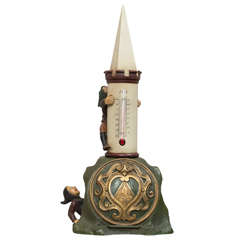 Whimsical Cold Painted Vienna Bronze with Elves