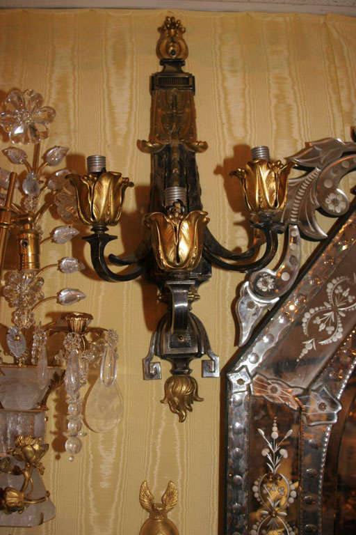Pair of Wall Sconces For Sale 1