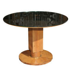 Fine Art Deco Coffee Table by Jules Leleu