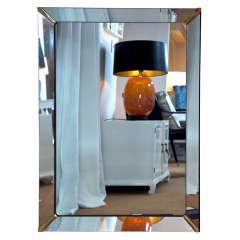 Brass Corner Mirror