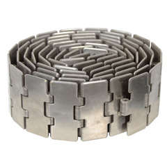 Coiled Metal Belt