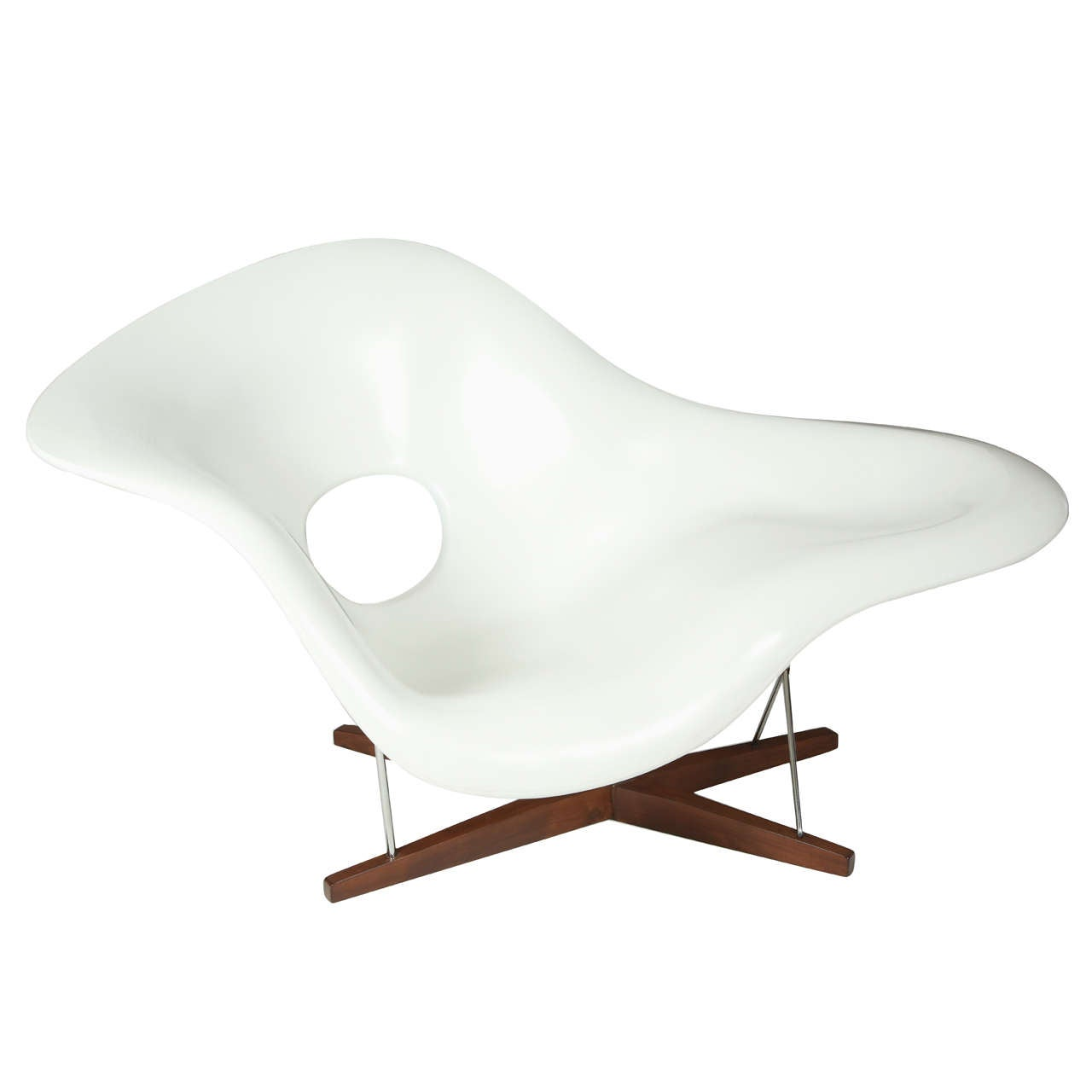 eames la chaise circa 1970 at 1stdibs. Black Bedroom Furniture Sets. Home Design Ideas