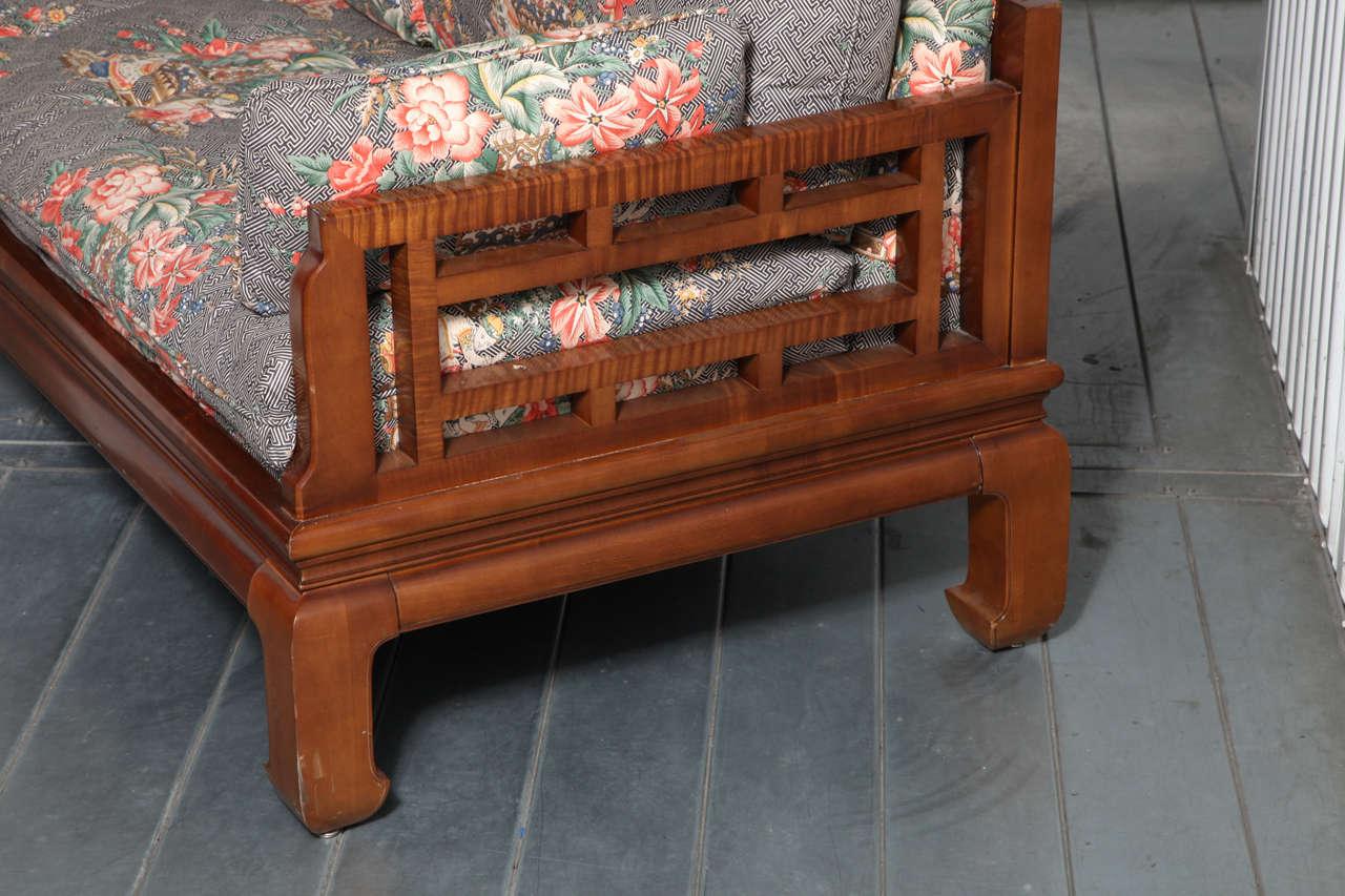 Michael Taylor Baker Furniture Asian Style Sofa At 1stdibs
