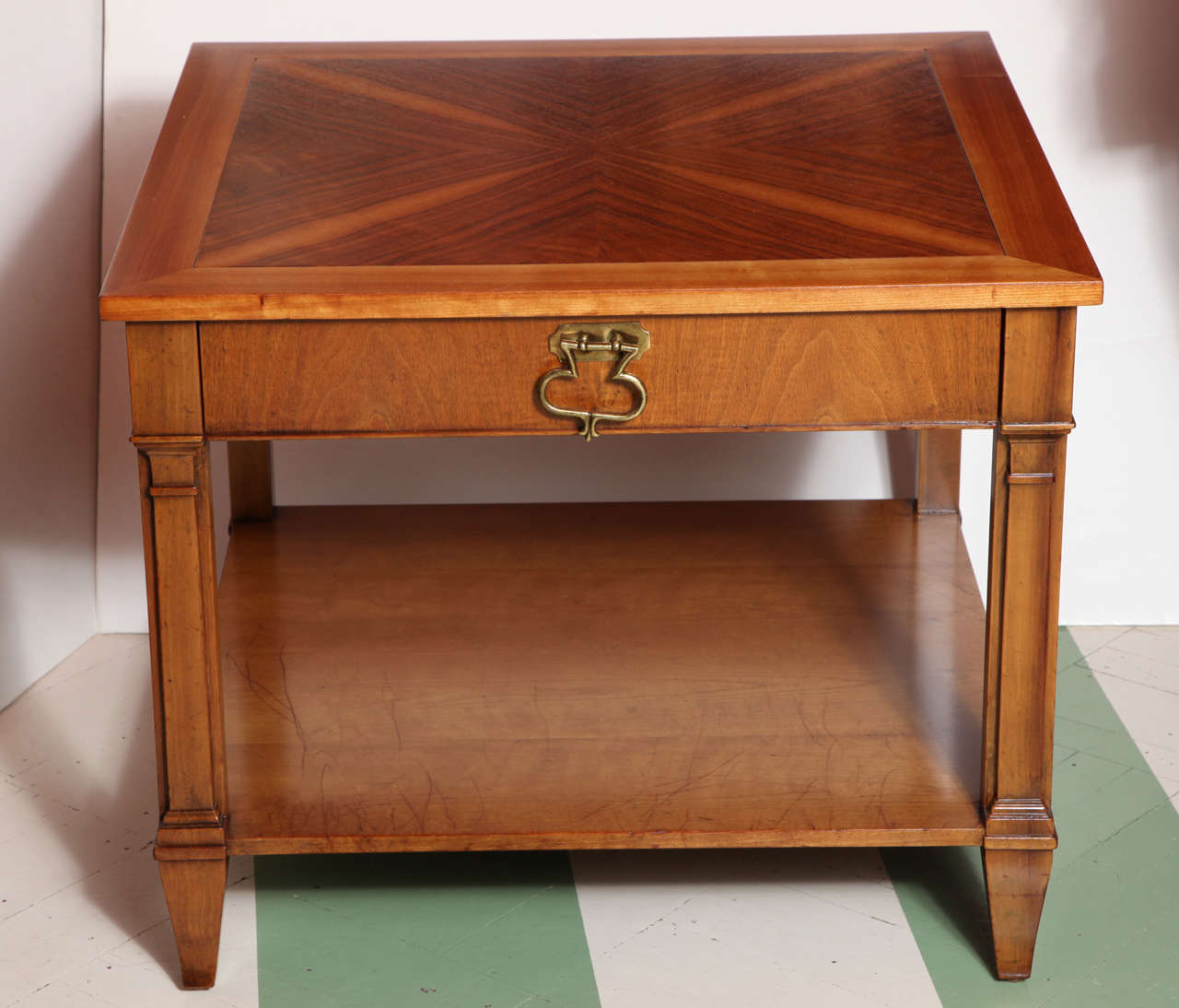 Pair Of Baker Furniture Side Tables For Sale At 1stdibs