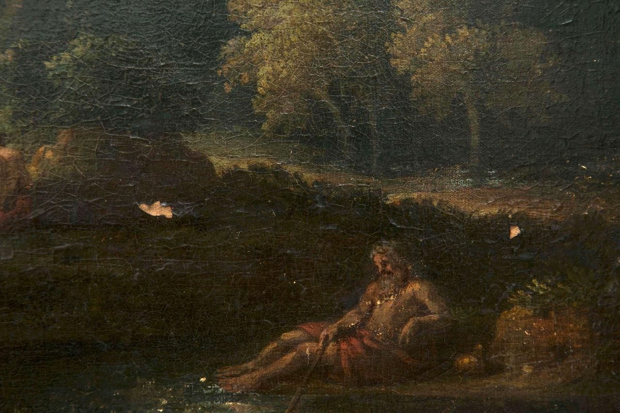 Dutch Jan Frans van Bloemen called Orizzonte (Antwerp 1662-Rome 1749), Roman Landscape For Sale