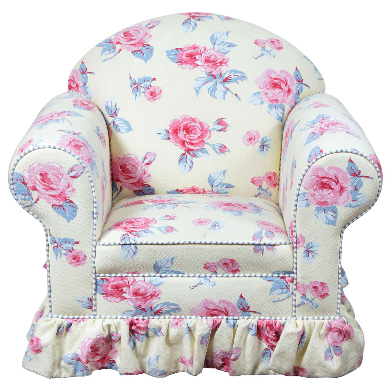 Child 39 s upholstered club chair for sale at 1stdibs for Child s first chair
