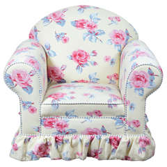 Child's Upholstered Club Chair