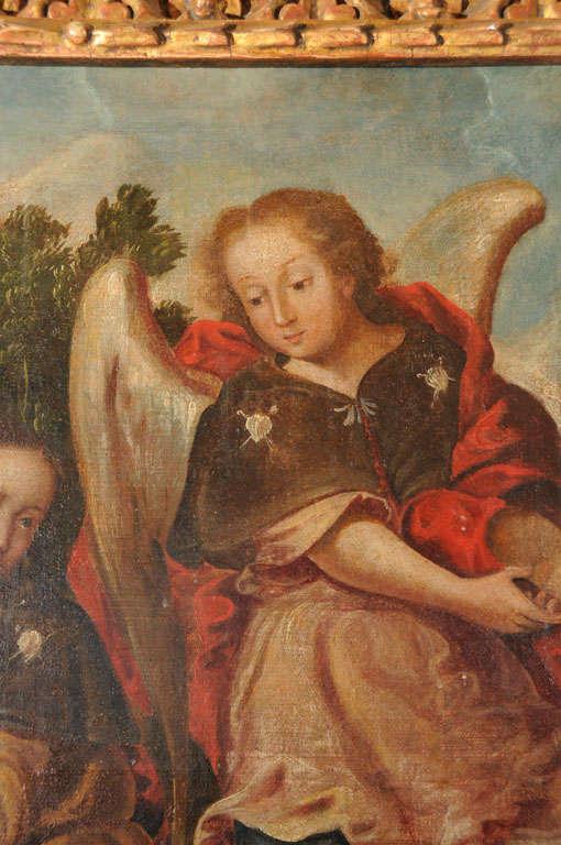 Spanish 18th Century Religious Painting