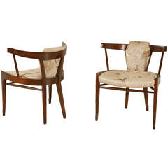 Pair Of Edmund Spence Arm Chairs