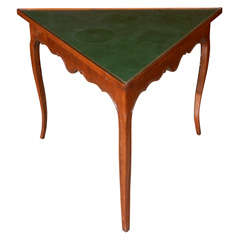 French Triangle Table