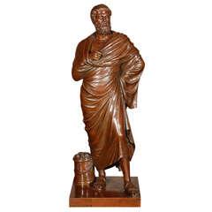 Bronze Statue of a Roman Sentaor