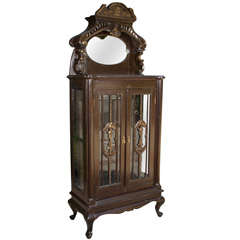 Early 1900s Curio Cabinet