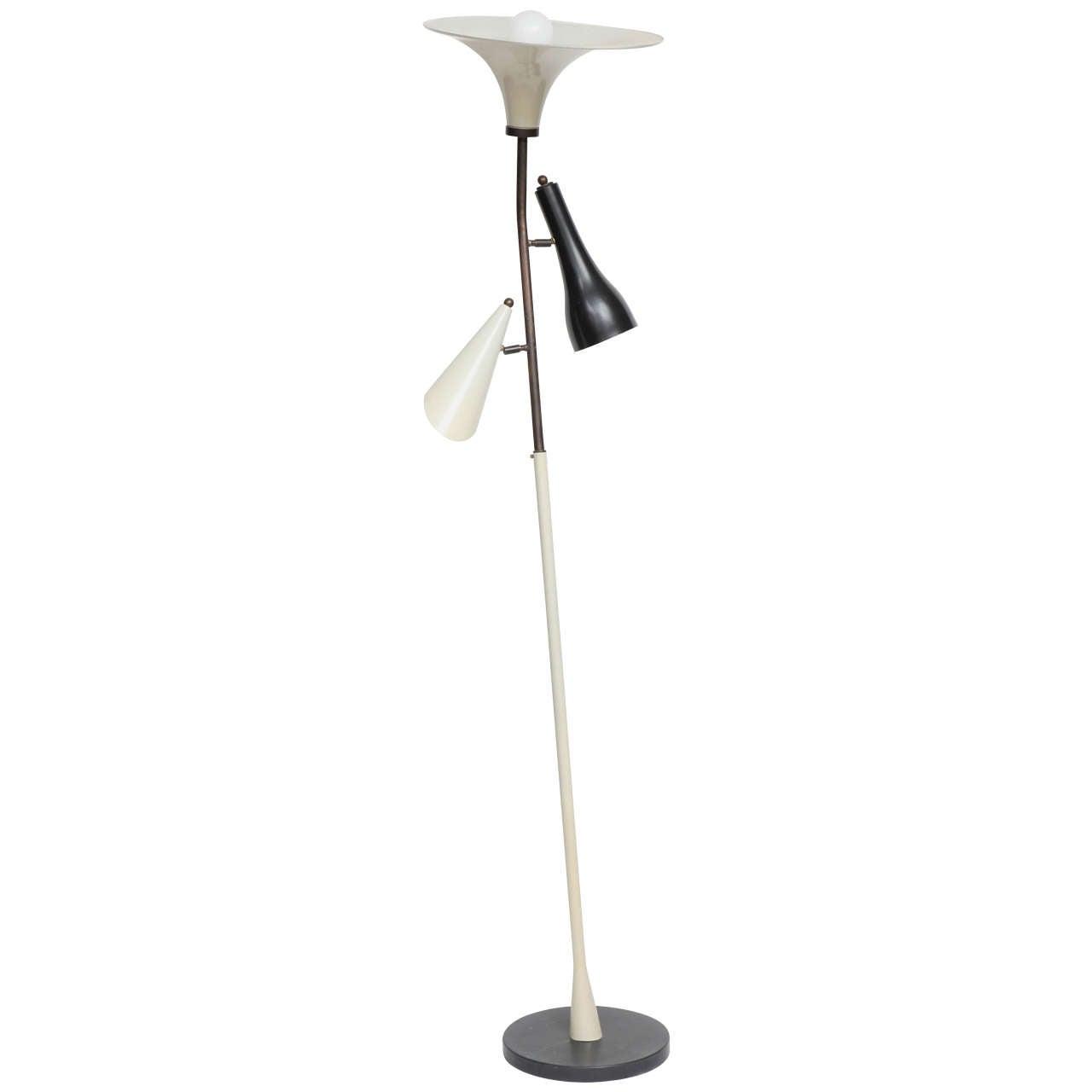 1950s Floor Lamp in the Style of Gino Sarfatti