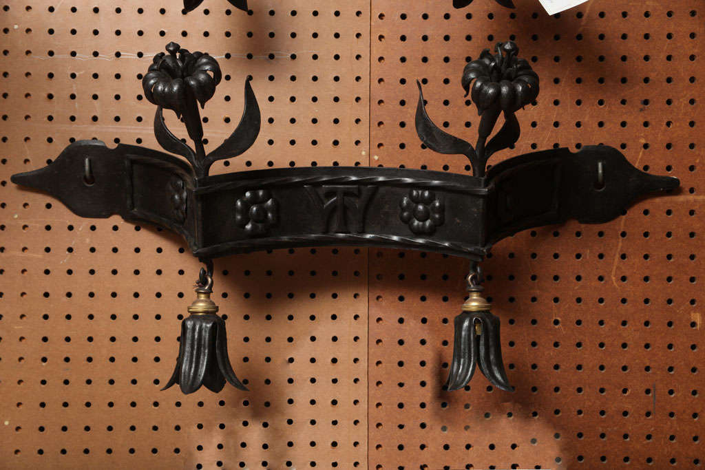 Pair of wall sconces by Lorimer.