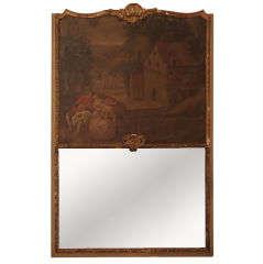 18th Century Trumeau Mirror